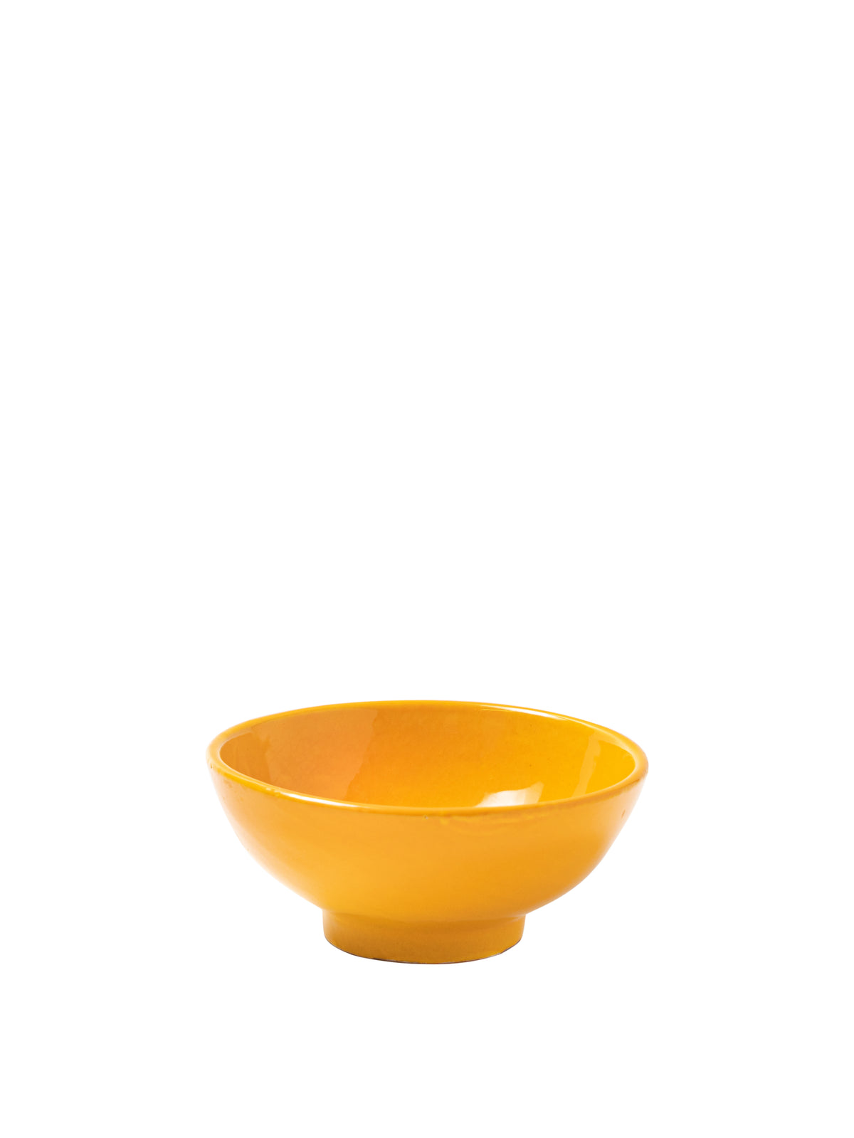 Casa Amarilla Small Bowl with Yellow Glaze