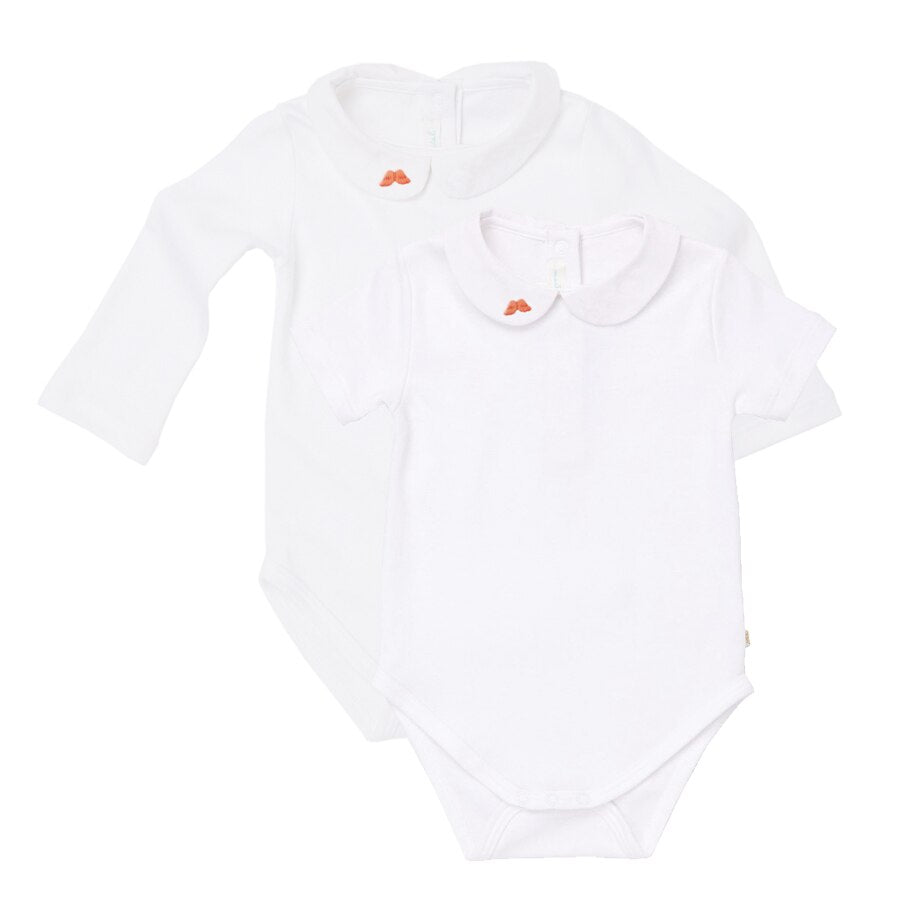 My First Angel Wing Embroidered Onsie Set