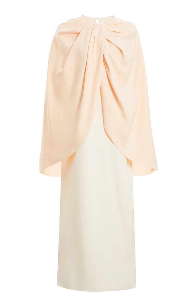 Twist Cape Dress