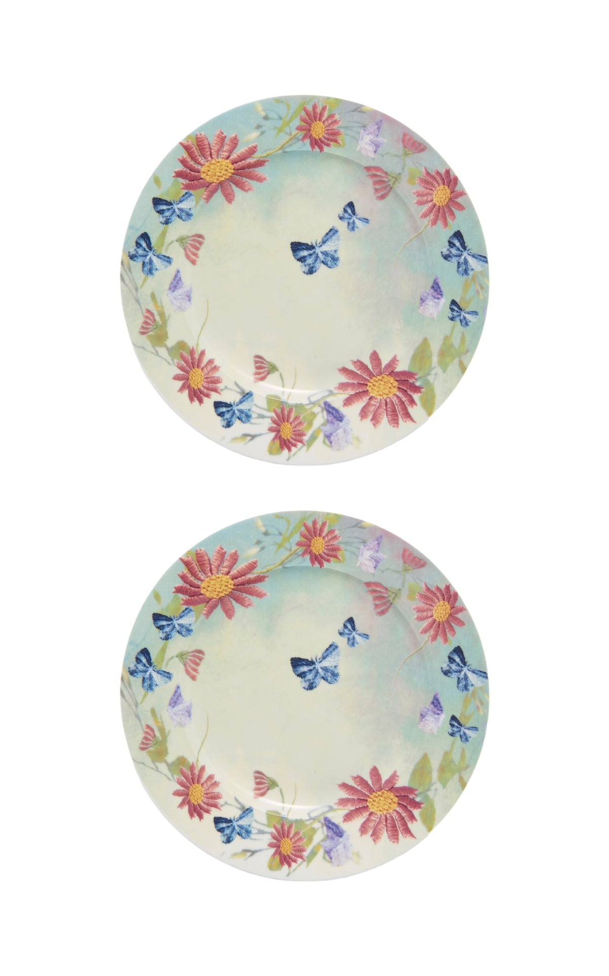 Margherite Porcelain Dinner Plate, Set of 2