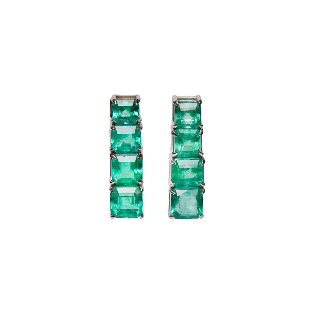 Maria Jose Jewelry Colombian Emerald Earrings