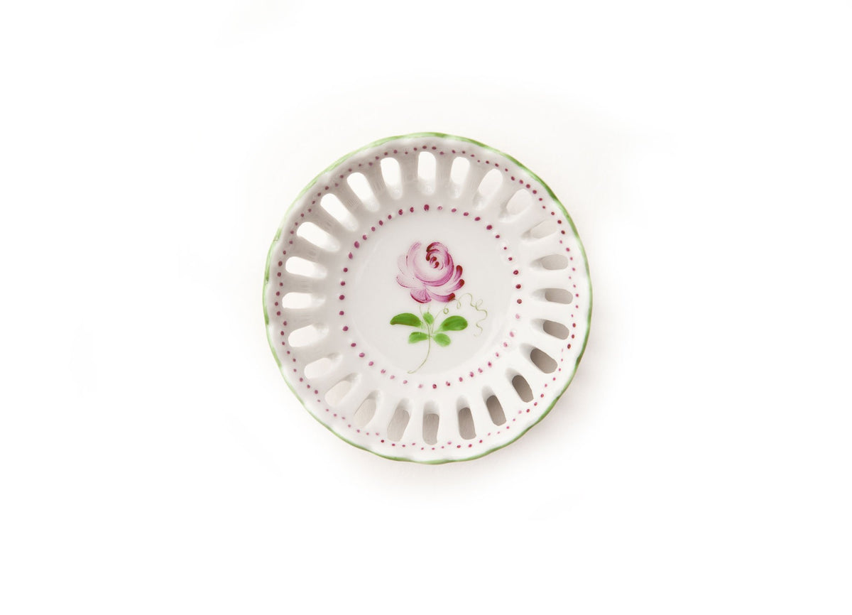 Smell The Roses Ring Dish