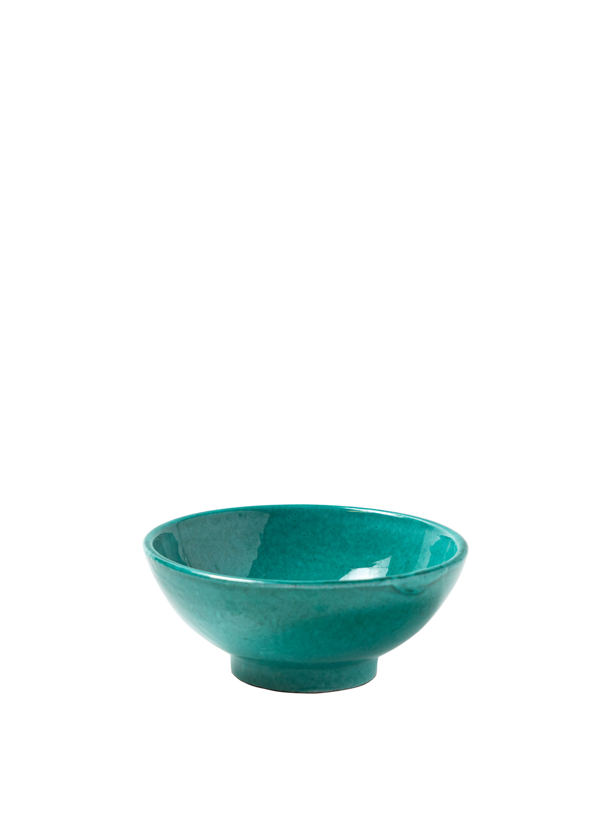Casa Verde Small Bowl with Green Glaze