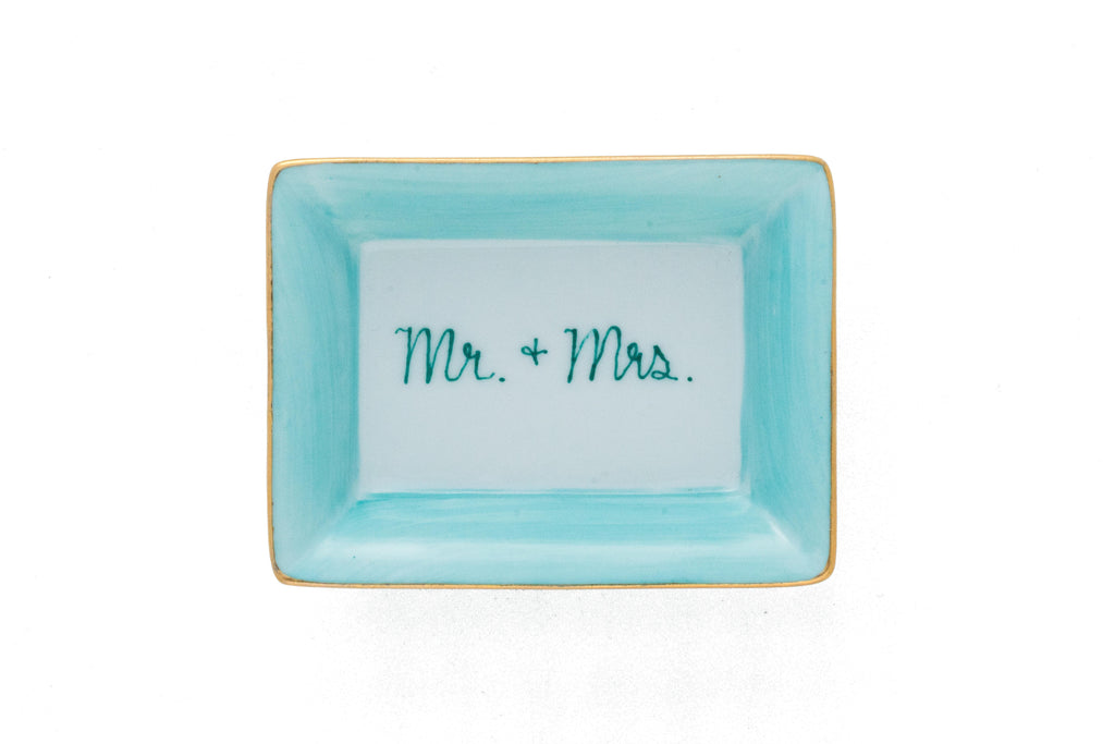 Mr. + Mrs. Jewelry Dish