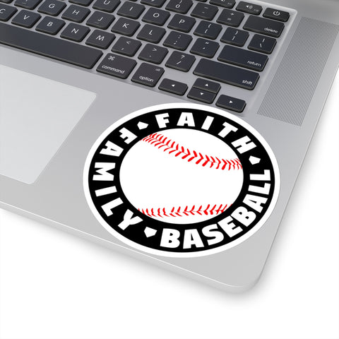 Image of Faith Family Baseball - Sticker - ShopBasesLoaded