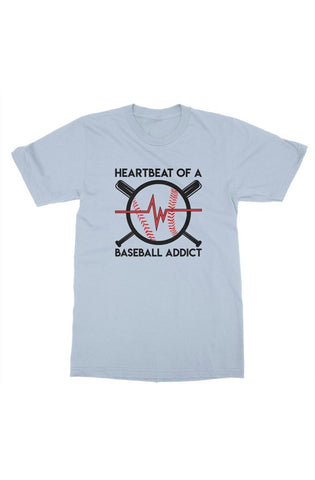 MEN - Baseball Addict Tee - ShopBasesLoaded