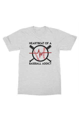 Image of MEN - Baseball Addict Tee - ShopBasesLoaded