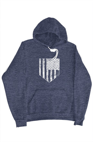 Image of MEN - American Flag Plate Sweater - ShopBasesLoaded