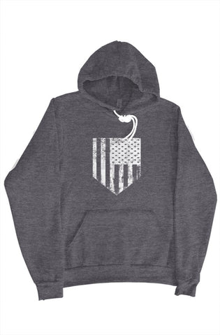 MEN - American Flag Plate Sweater - ShopBasesLoaded