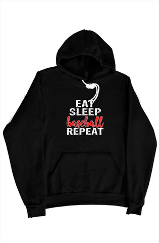 MEN - Eat Sleep Baseball Sweater - ShopBasesLoaded