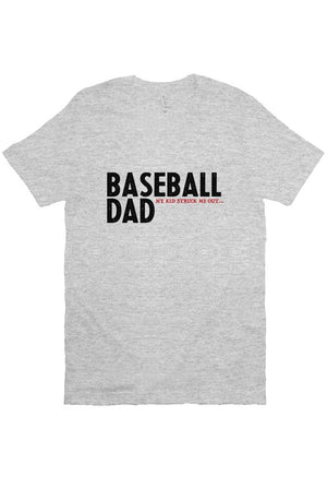 MEN - Baseball Dad Strikeout GREY
