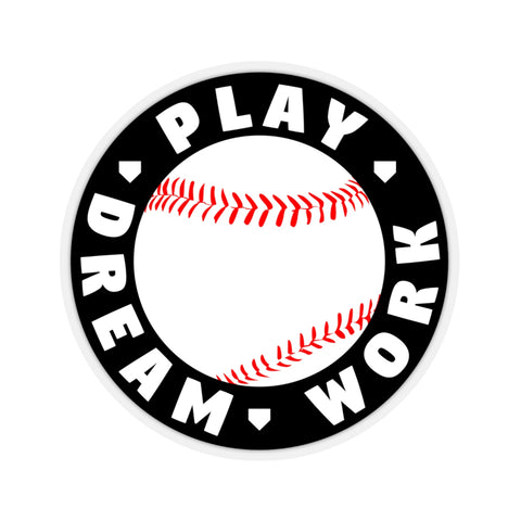 Image of Play Dream Work - Sticker - ShopBasesLoaded