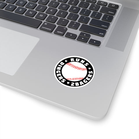 Image of Runs Dingers 2Bagers - Sticker - ShopBasesLoaded