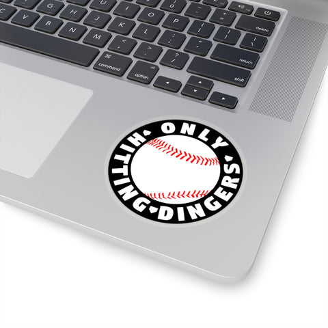 Only Hitting Dingers - Sticker - ShopBasesLoaded