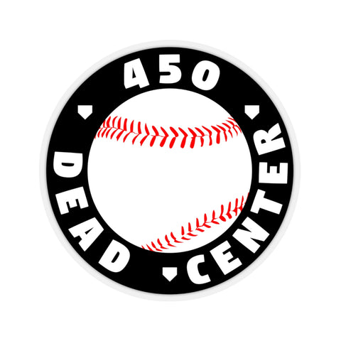 Image of 450 Dead Center - Sticker - ShopBasesLoaded