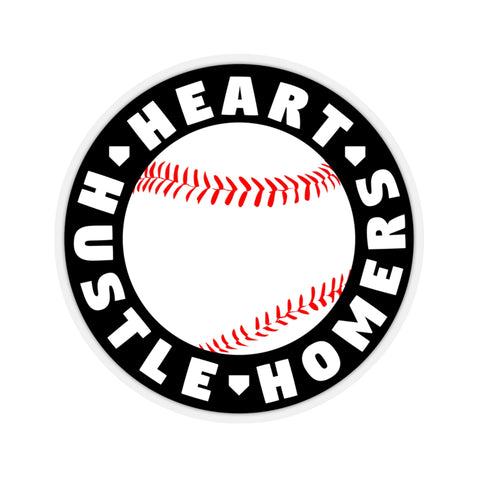 Image of Heart Hustle Homers - Sticker - ShopBasesLoaded