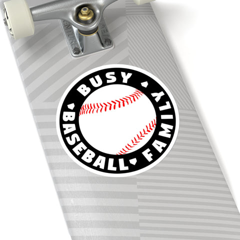 Image of Busy Baseball Family - Sticker - ShopBasesLoaded