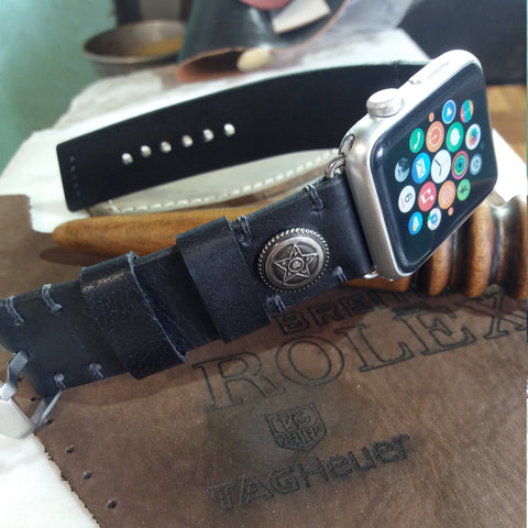 Handmade Watch Band 42mm Personalized Gift Men Handmade Watch Band 42mm 38mm - GORIANI