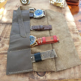 Quality Travel Cases for Watches Leather Watch Roll - GORIANI