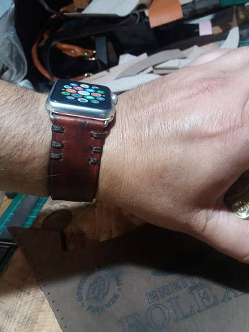 Apple Watch Band 42 Apple Watch Leather Band - GORIANI