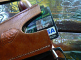 Credit Card Organizer - Card Cases Handmade - Wallet Card Holder - Leather Slim - GORIANI