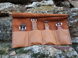 Watch Roll - Personalized Tool Roll - Watch Roll Leather - Roll Case - Custom Slots - GORIANI