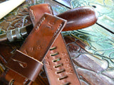 Leather watch strap Band 38mm Horween Leather Apple Watch Band | 42mm 38mm - GORIANI
