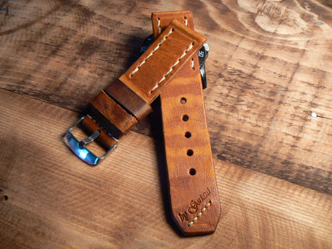 Genuine Leather Watch Band Strap for Apple  42mm 38mm - GORIANI
