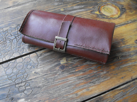Leather Watch Roll Travel Pouch Cases For Your Watches - GORIANI