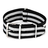 Causal Watch Band Nylon Fabric 18mm 20mm 22mm Buckle Sport Band - GORIANI