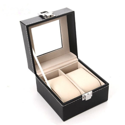 Watch Box 5 Grid Display Case Box for Watches - GORIANI
