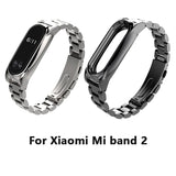 Stainless Steel Wrist Strap For Xiaomi Mi band 2 Miband OLED Smart Bracelet Wristbands Replacement Wrist Band - GORIANI