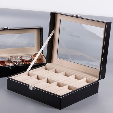 Watch Display Box for Wristwatch case Jewellery Boxes - GORIANI