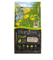 1.5kg Burgess Natures Blend Nuggets for Adult Rabbits