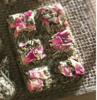 Cleo's Rose Petal Choccy Bars