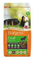 2kg Burgess Excel Guinea Pig Pellets with Mint