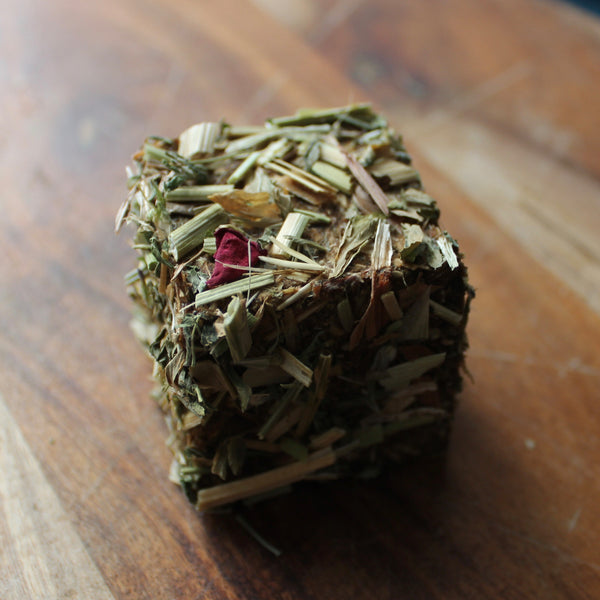 Rose Chaff-Filled Lamington