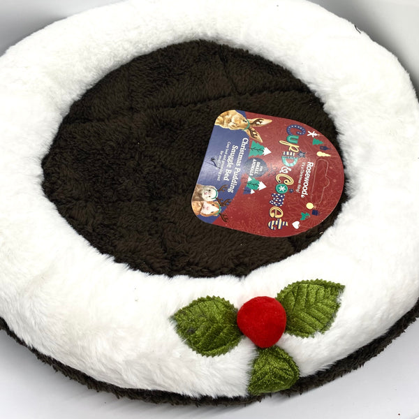 Christmas Pudding Snuggle Bed