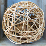 Large Rattan Wobble Ball