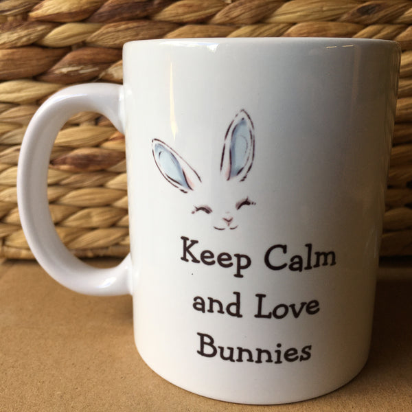 Mug - Keep Calm and Love Bunnies