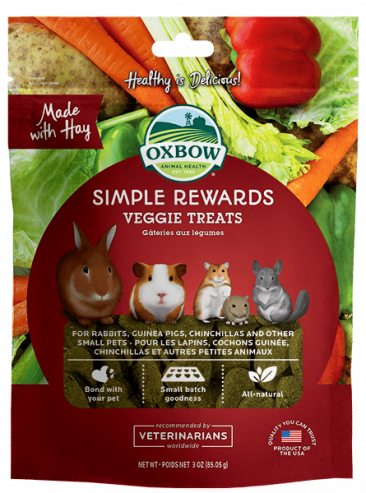 Oxbow Simple Rewards Veggie Treats 85g