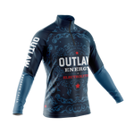 Outlaw Angler Fishing 1/4 Zip Jersey - Men's