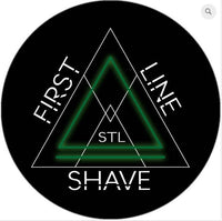 Green Label Soap and Aftershave Set - by First Line Shave