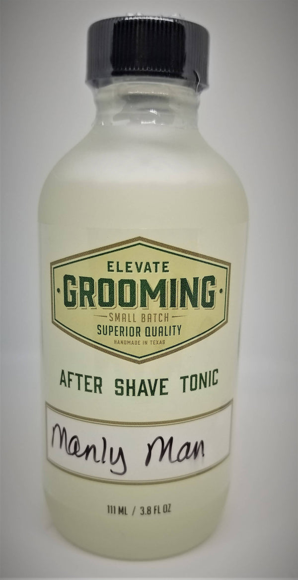 After Shave Tonic, Manly Man - by Elevate Grooming