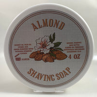 Almond Shaving Soap - by Fenomeno