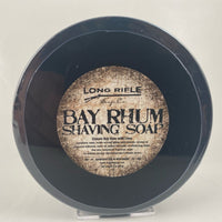 Bay Rhum Shaving Soap (3oz Jar) - by Long Rifle Soap Co.