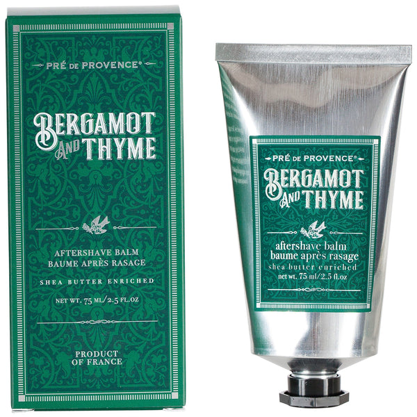 Bergamot and Thyme After Shave Balm - by Pré de Provence
