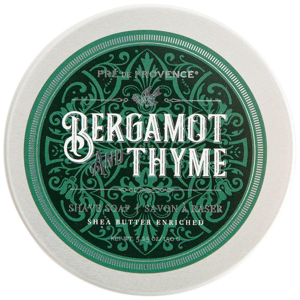 Bergamot and Thyme Shaving Soap - by Pré de Provence