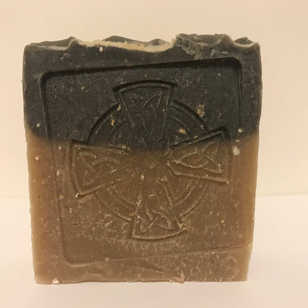 Black and Tan Bar Soap
