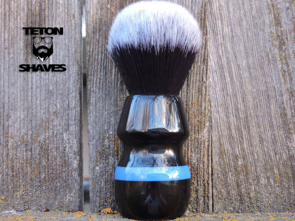 Thin Blue Line Shaving Brush - by Teton Shaves